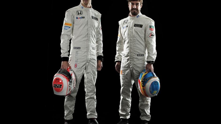 Jenson Button, Fernando Alonso, McLaren, 2015