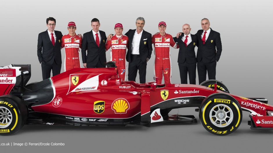 Arrivabene targets two wins for Ferrari in 2015