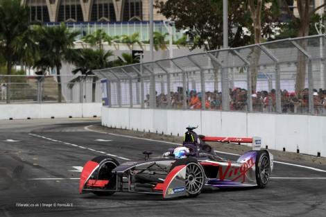 Sam Bird, Virgin Racing, Formula E, Putrajaya, 2014