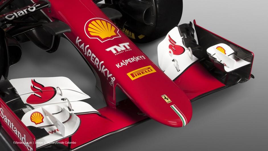 Ferrari SF-15T nose, 2015
