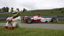 Lewis Hamilton, GP2, Hungaroring, 2006