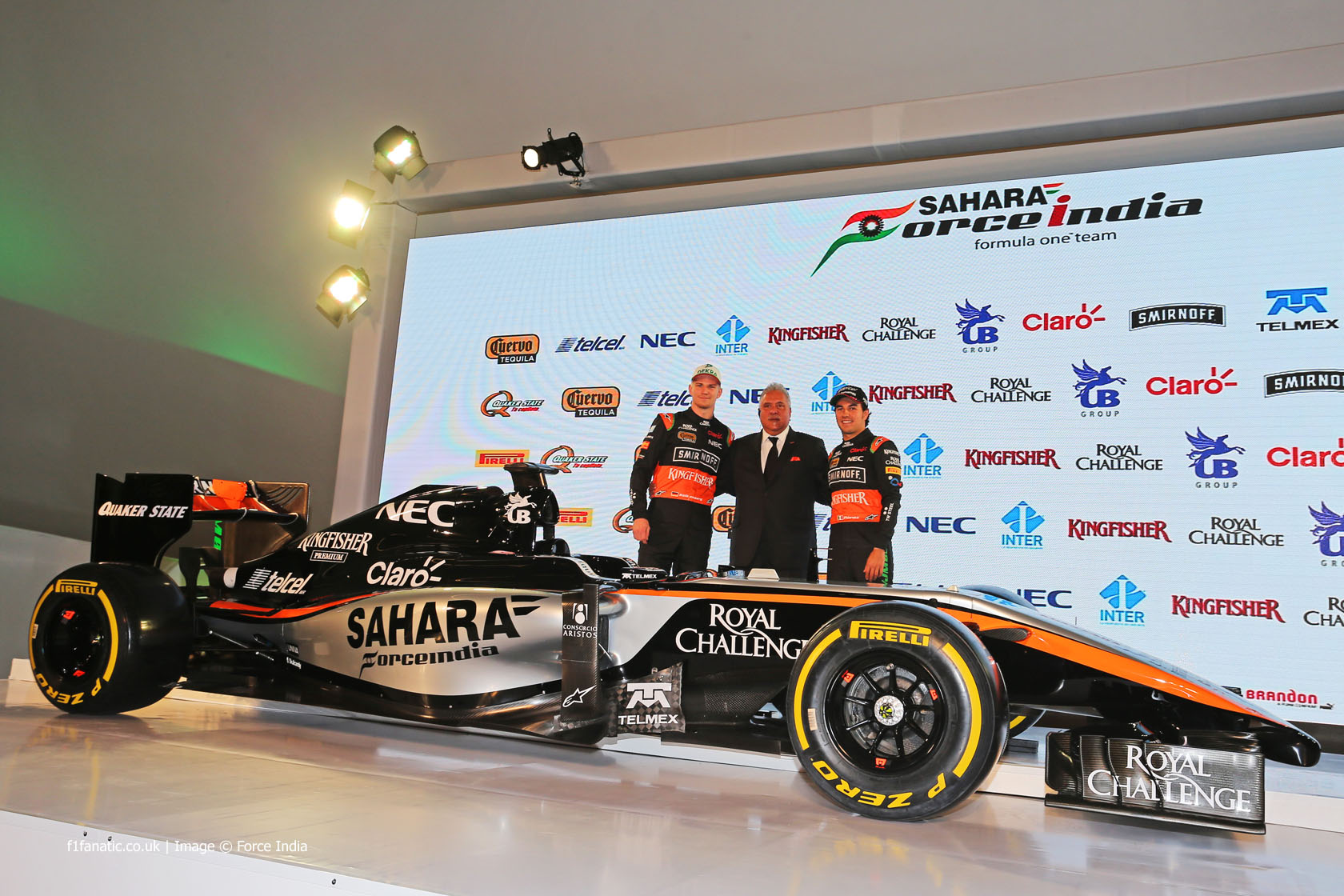f1 new car releaseForce India reveal new livery for 2015 VJM08  F1 Fanatic