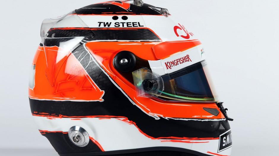 Nico Hulkenberg helmet, 2015