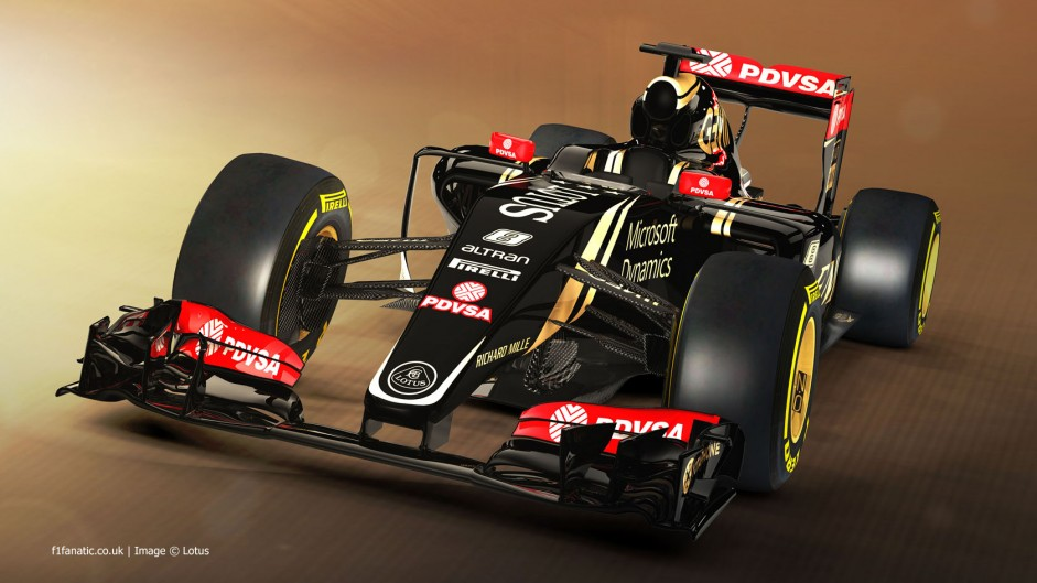 Lotus's new E23 won't run until Tuesday