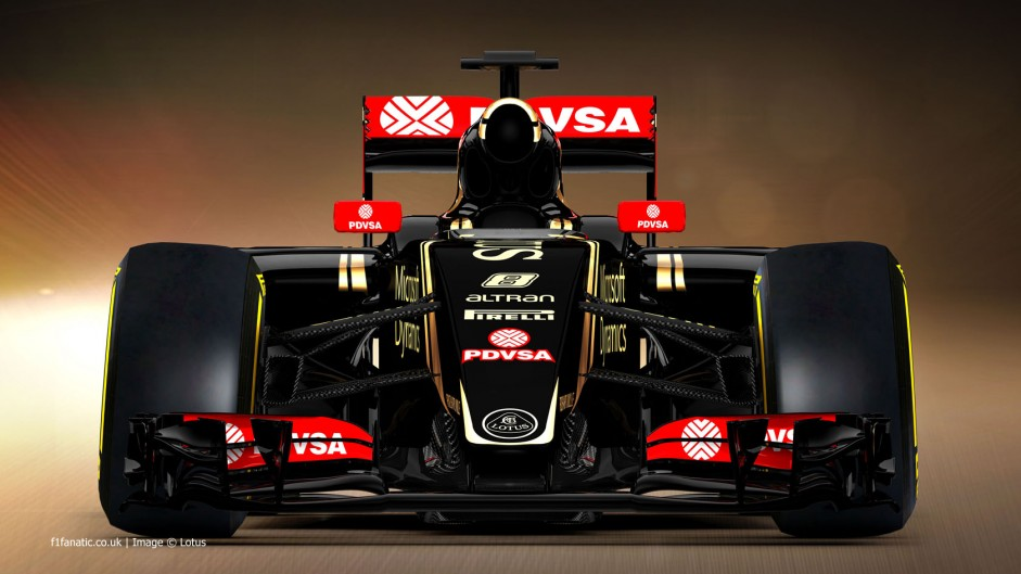 Lotus E23 rendering 3, 2015