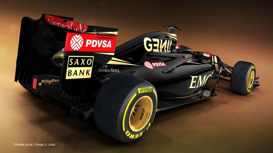 Lotus E23 rendering 4, 2015