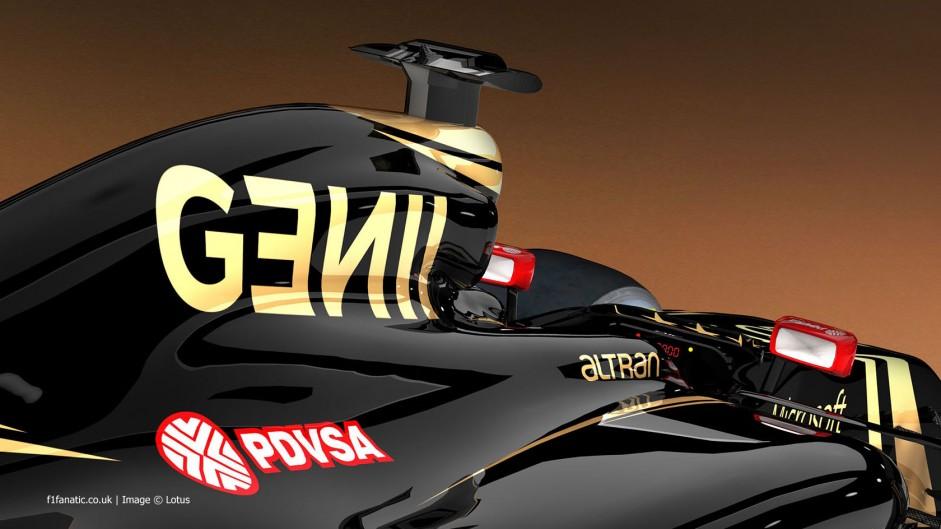 Lotus E23 cockpit rendering, 2015