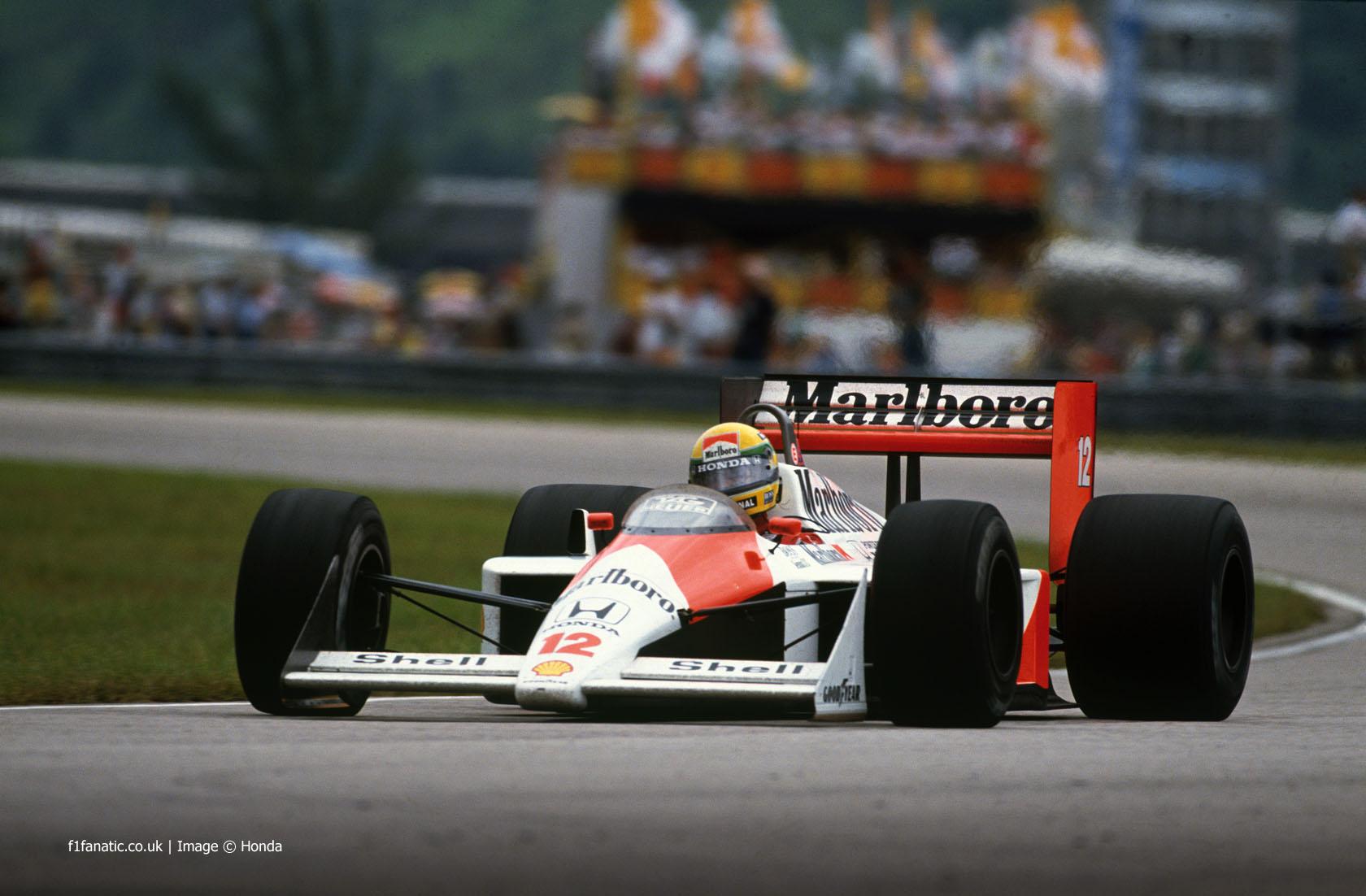 Ayrton Senna, McLaren, Jacarepagua, 1988