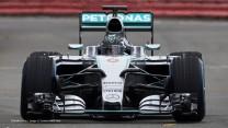 Nico Rosberg, Mercedes W06, Silverstone, 2015
