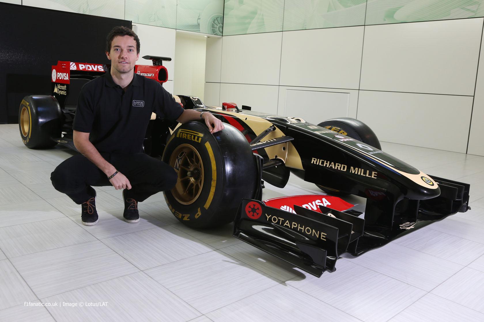 Jolyon Palmer, Lotus, 2015