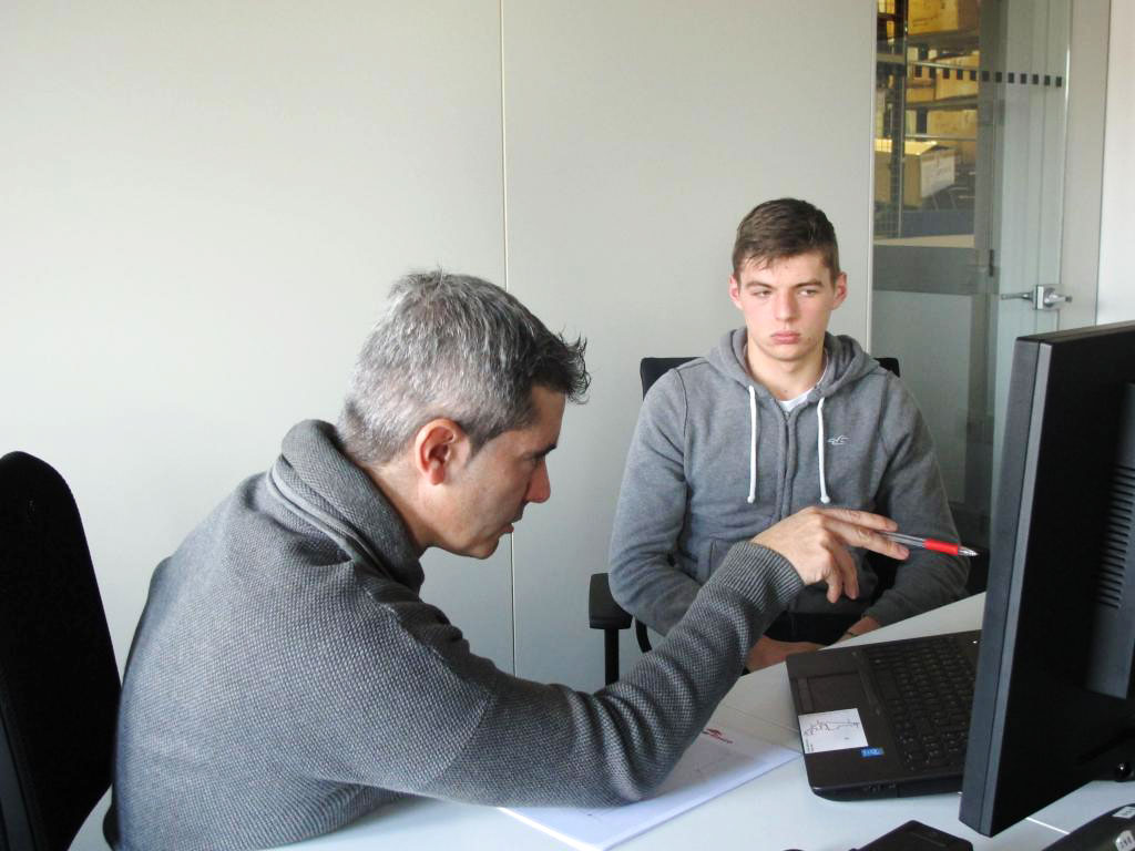 Xevi Pujolar, Max Verstappen, 2015