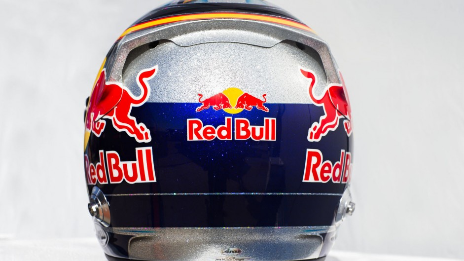 Carlos Sainz Jnr helmet, Toro Rosso, 2015