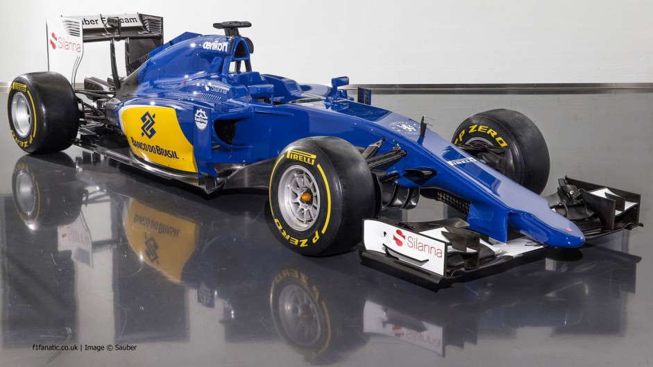 First pictures: Sauber C34 revealed