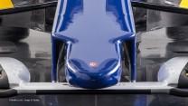 Sauber C34 nose, 2015