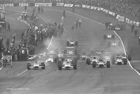Start, Brands Hatch, 1968