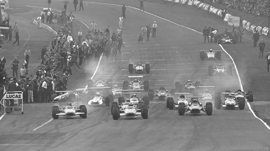 Start, Brands Hatch, 1968