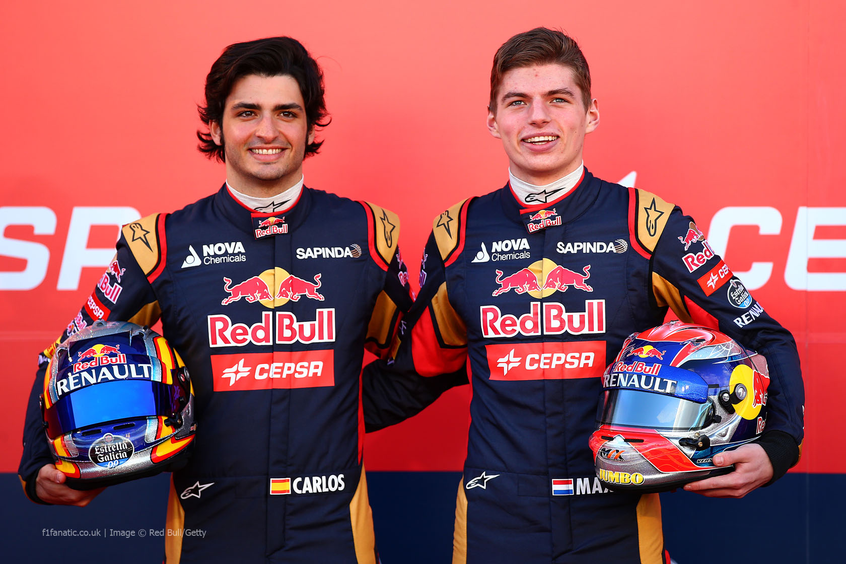 Carlos Sainz Jnr, Max Verstappen, Toro Rosso, Jerez, 2015