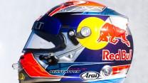 Max Verstappen helmet, Toro Rosso, 2015