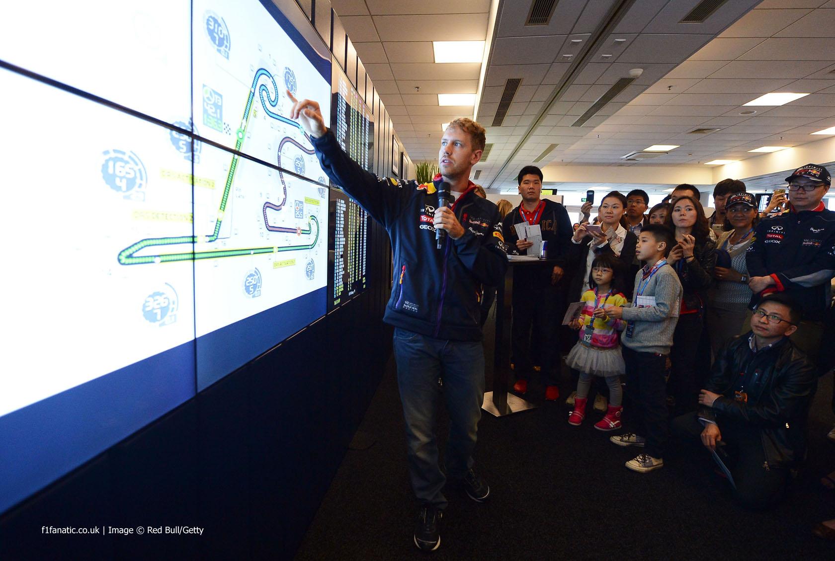 Sebastian Vettel, Red Bull, Shanghai, 2014