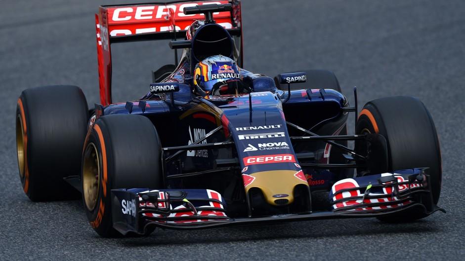 Sainz encouraged by Toro Rosso upgrade