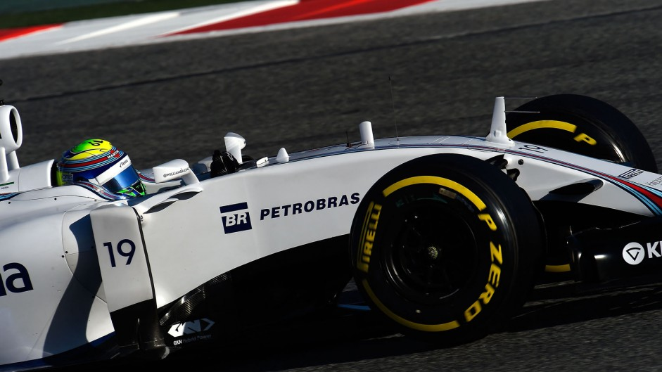 Felipe Massa, Williams, Circuit de Catalunya, 2015