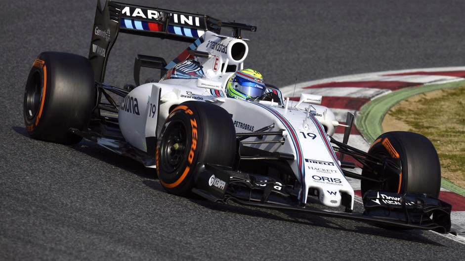 Felipe Massa, Williams, Circuit de Catalunya, 2015