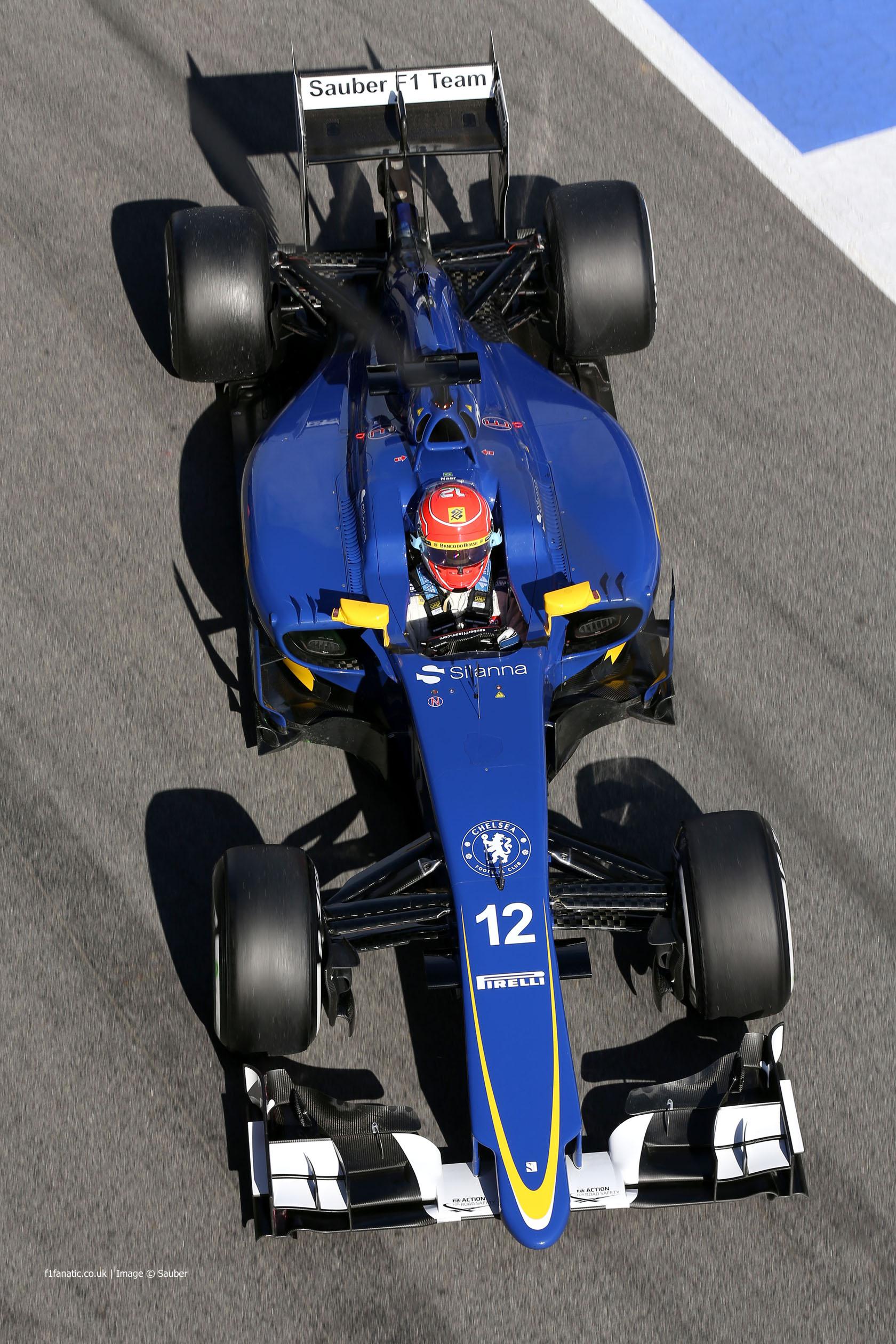 Felipe Nasr, Sauber, Circuit de Catalunya, 2015
