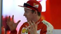 Kimi Raikkonen, Ferrari, Circuit de Catalunya, 2015