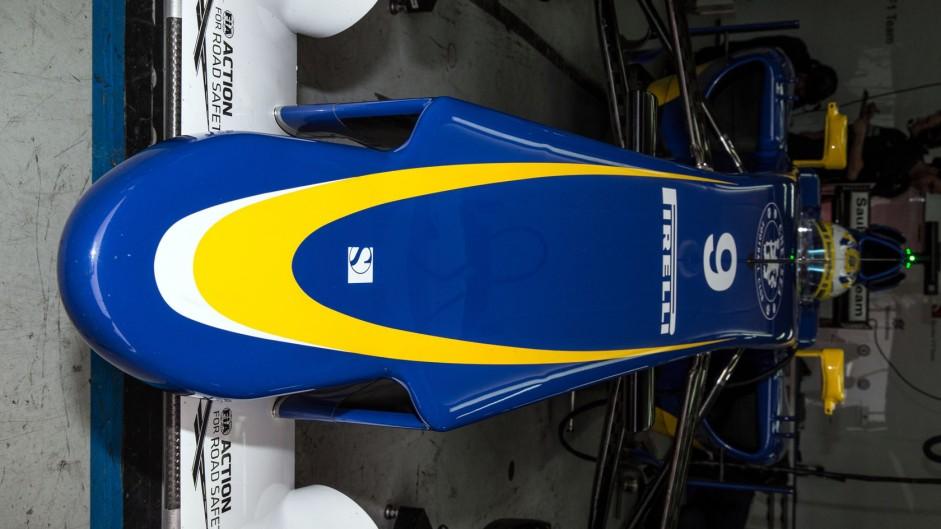 Marcus Ericsson, Sauber, Circuit de Catalunya, 2015