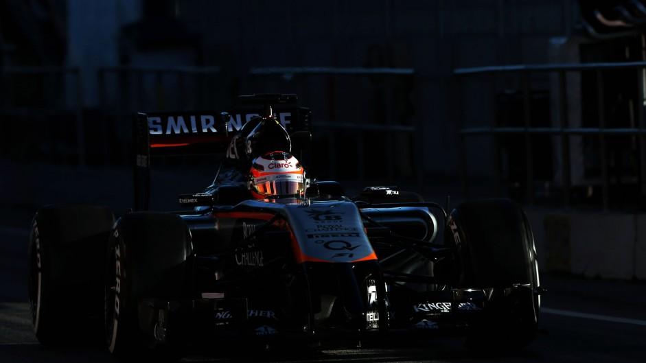 Nico Hulkenberg, Force India, Circuit de Catalunya, 2015