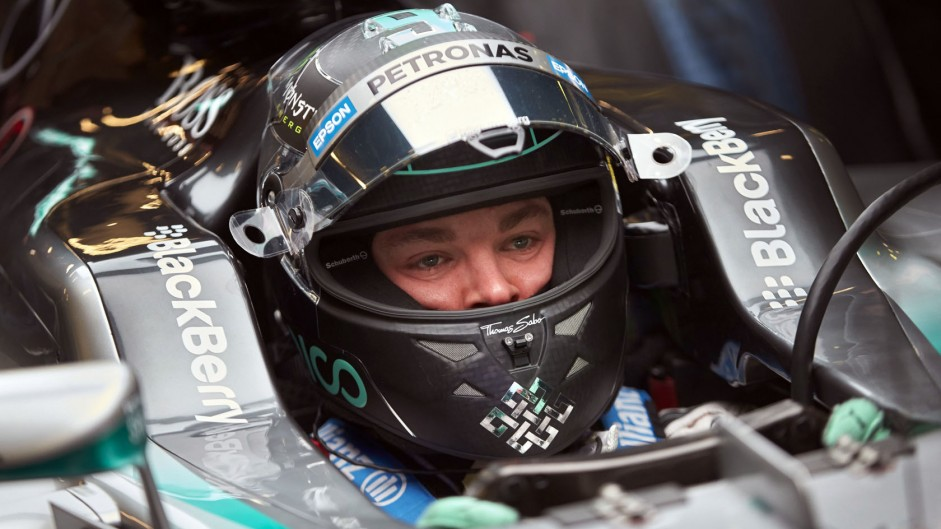 Rosberg's back trouble due to seating position