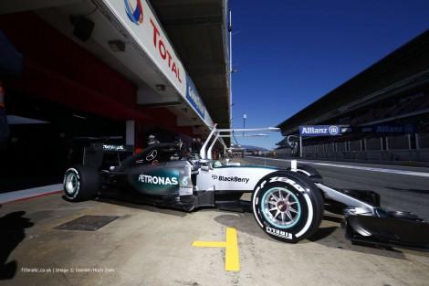 Nico Rosberg, Mercedes, Circuit de Catalunya, 2015