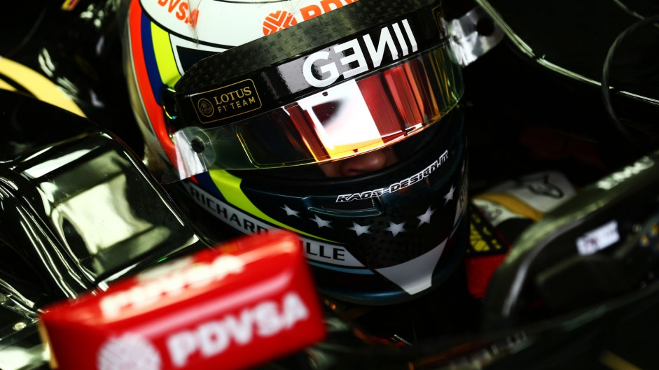Maldonado not to blame for crash – Lotus