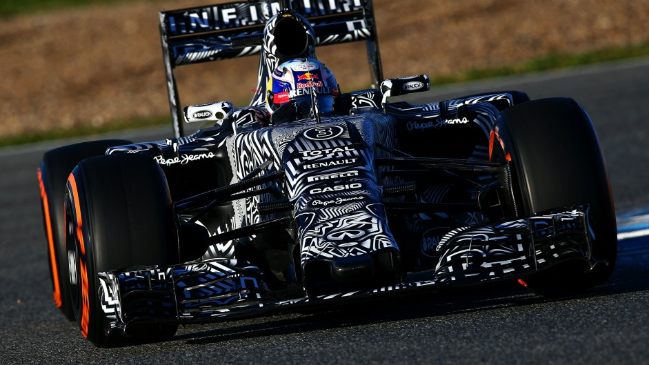 First pictures: Red Bull RB11 appears in camouflage