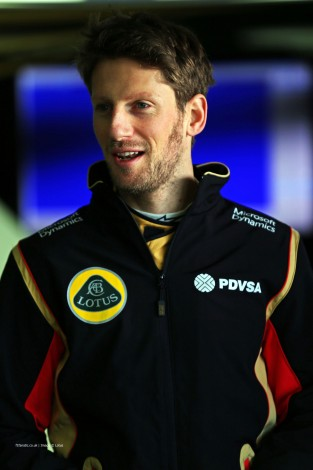 Romain Grosjean, Lotus, Circuit de Catalunya, 2015
