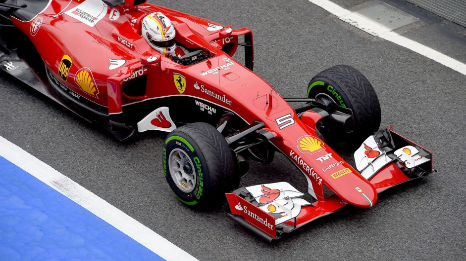 """""""I was sleeping a bit"""" – Vettel explains his spin"""