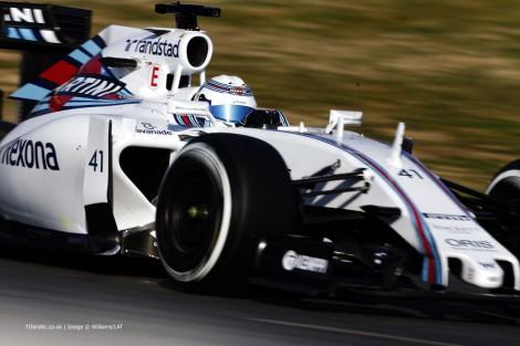 Susie Wolff, Williams, Circuit de Catalunya, 2015