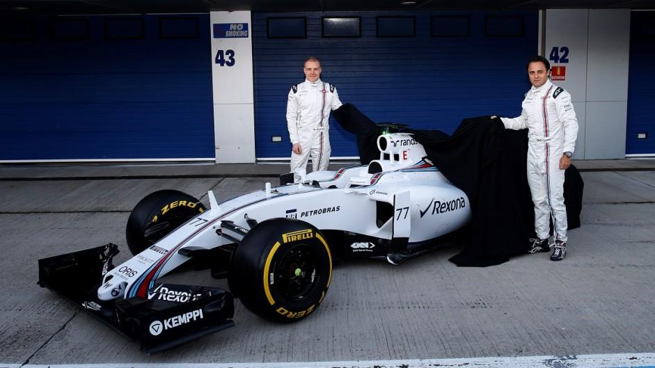 Valtteri Bottas, Felipe Massa, Williams FW37, Jerez