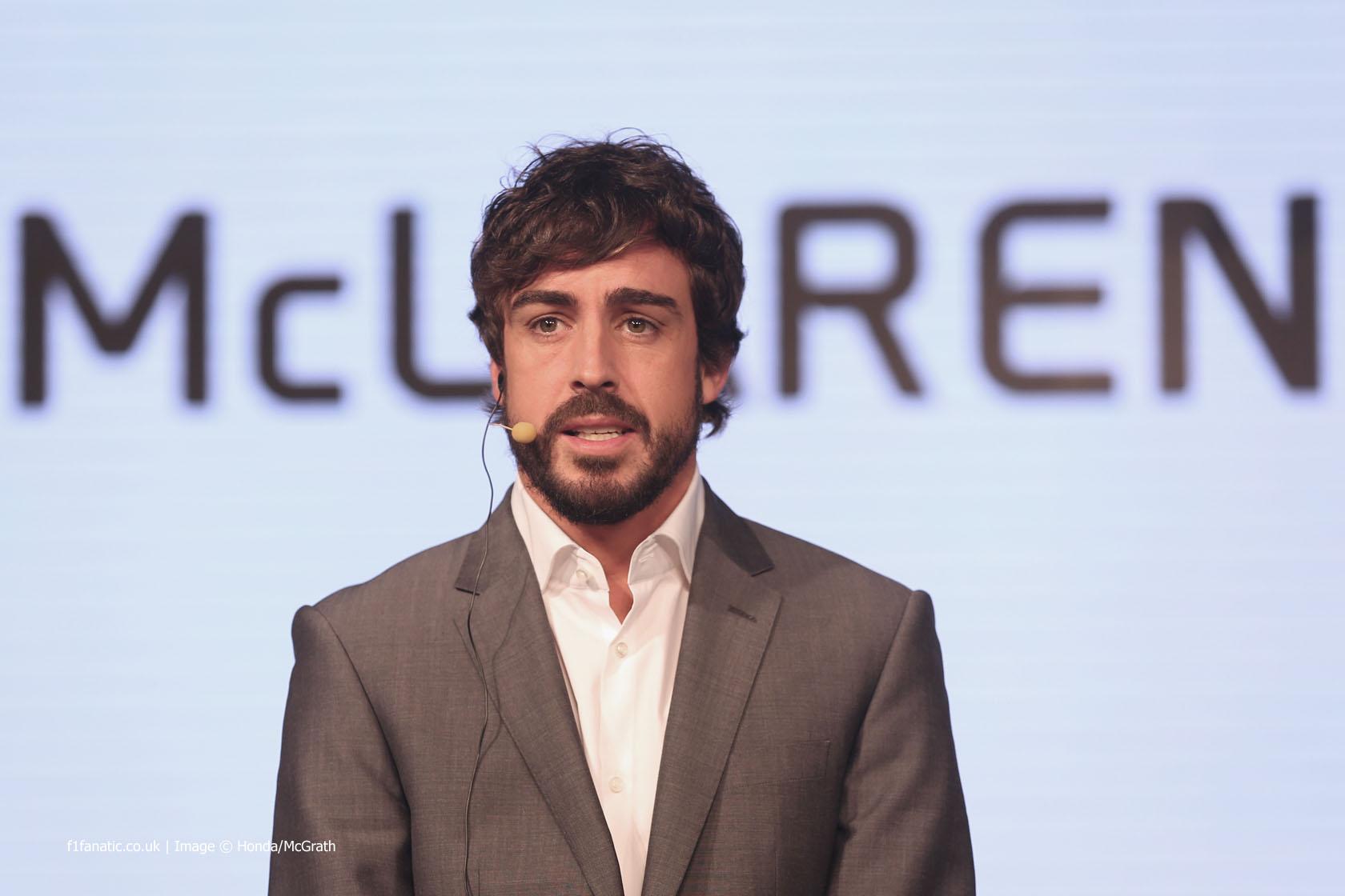 Fernando Alonso, McLaren, 2015
