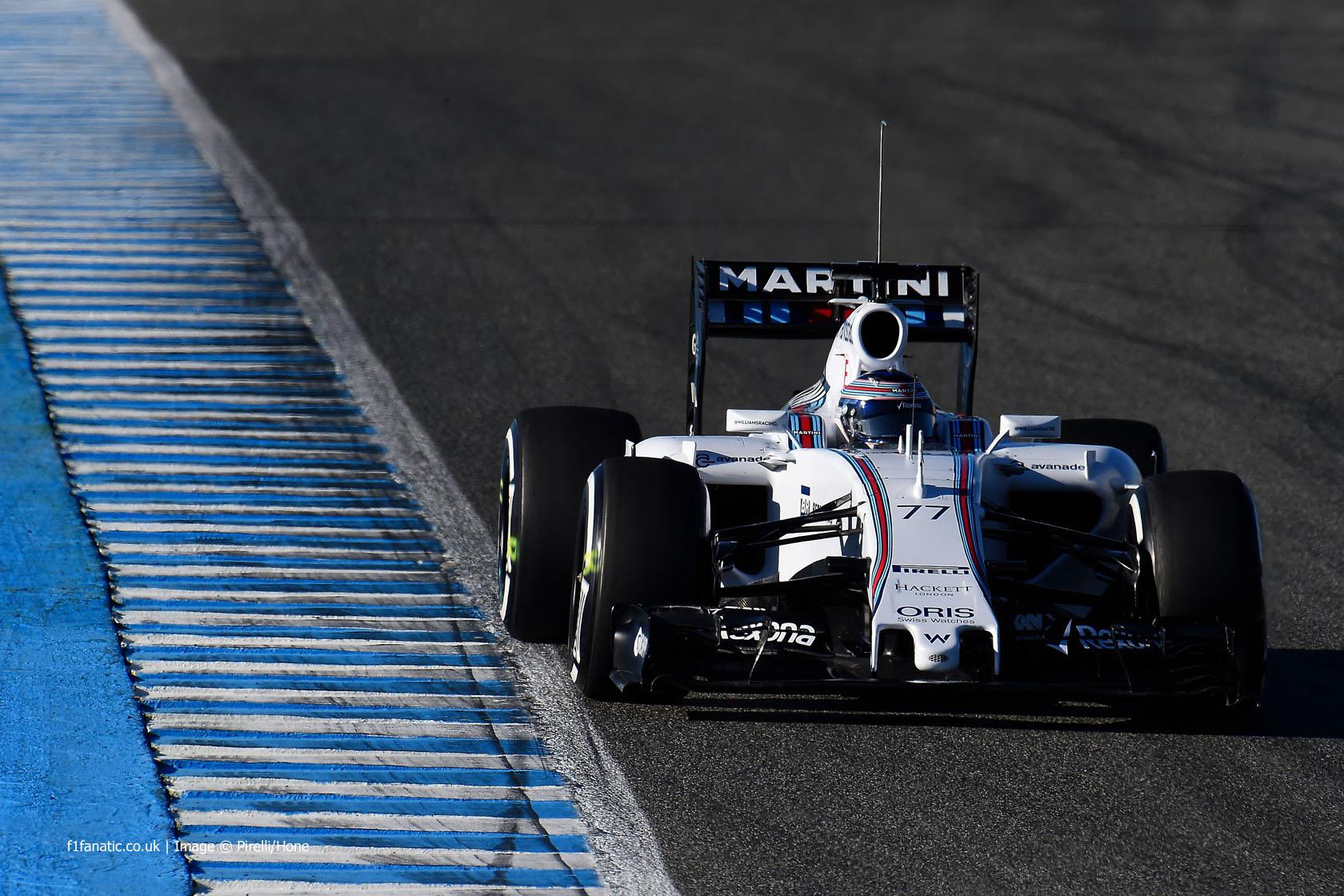 Valtteri Bottas, Williams, Circuito de Jerez, 2015