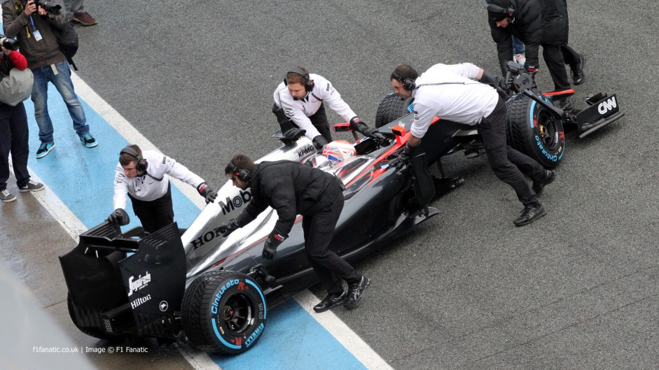 McLaren on top of issues after late run – Button