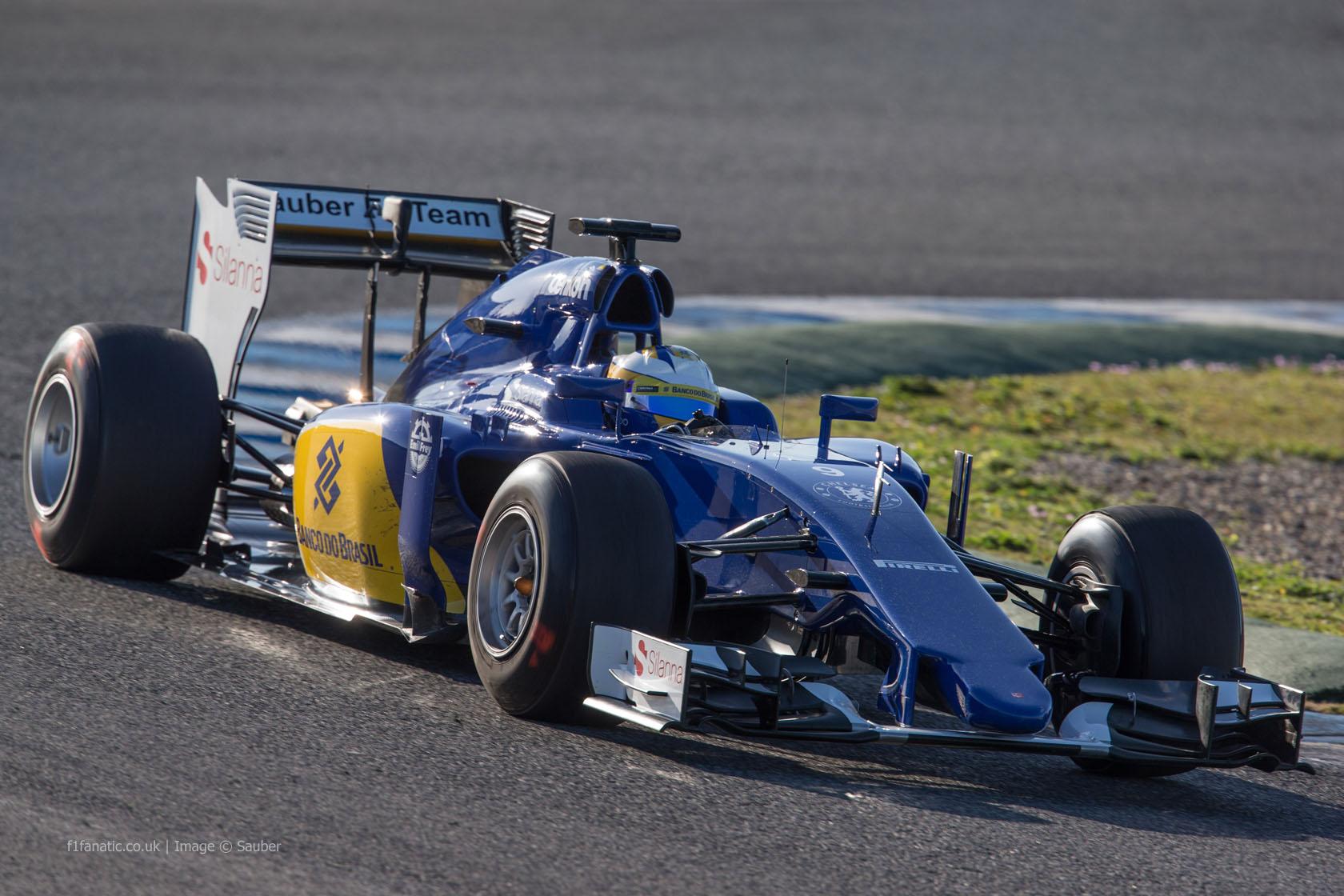 marcus ericsson sauber circuito de jerez 2015 f1 fanatic