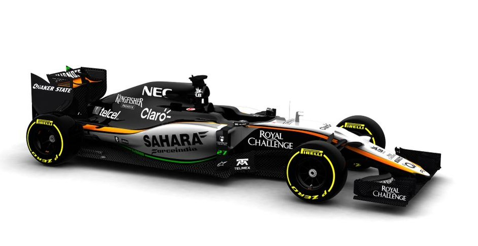 Force India reveal VJM08 ahead of Friday debut