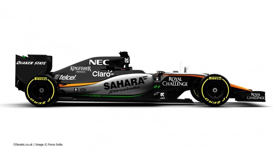Hulkenberg will be first to drive new Force India