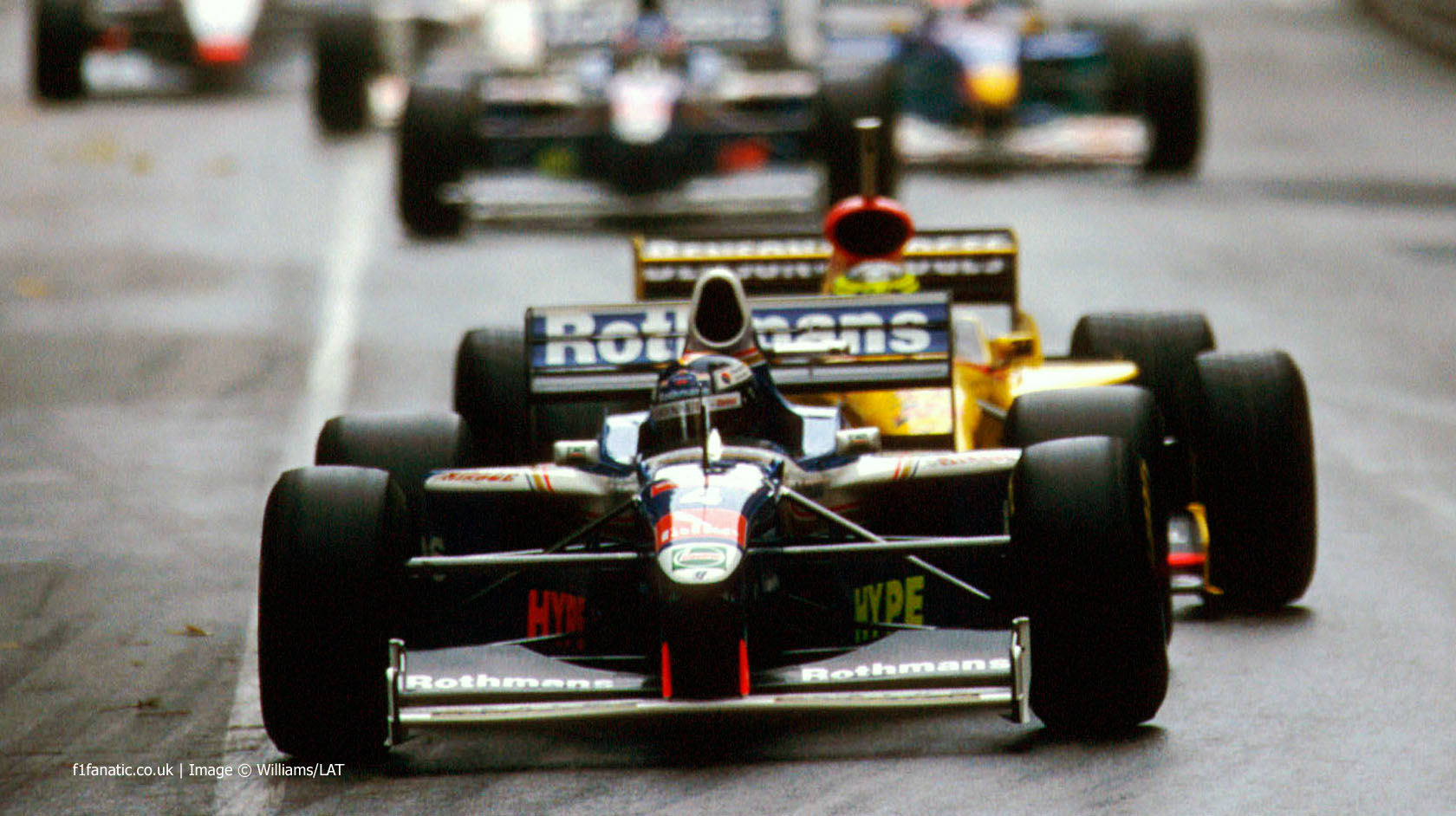 Heinz-Harald Frentzen, Williams, Monte-Carlo, Monaco, 1997