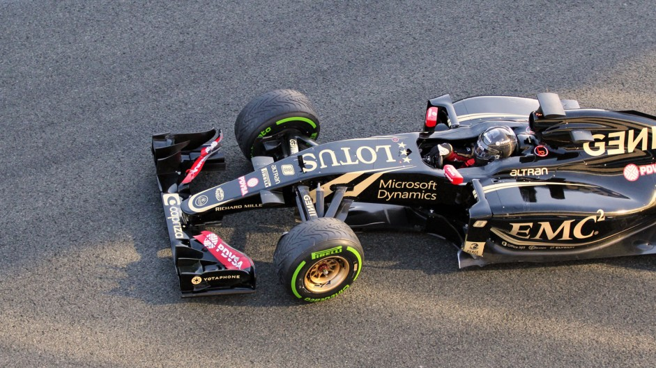 Romain Grosjean, Lotus, Circuito de Jerez, 2015