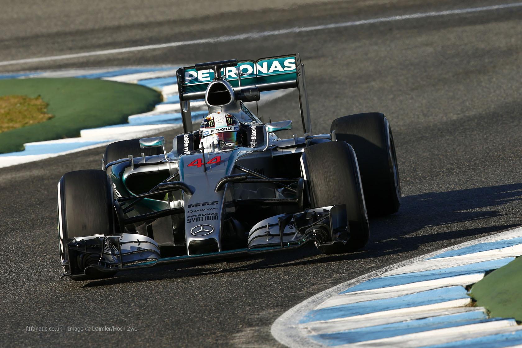 Lewis Hamilton, Mercedes, Circuito de Jerez, 2015