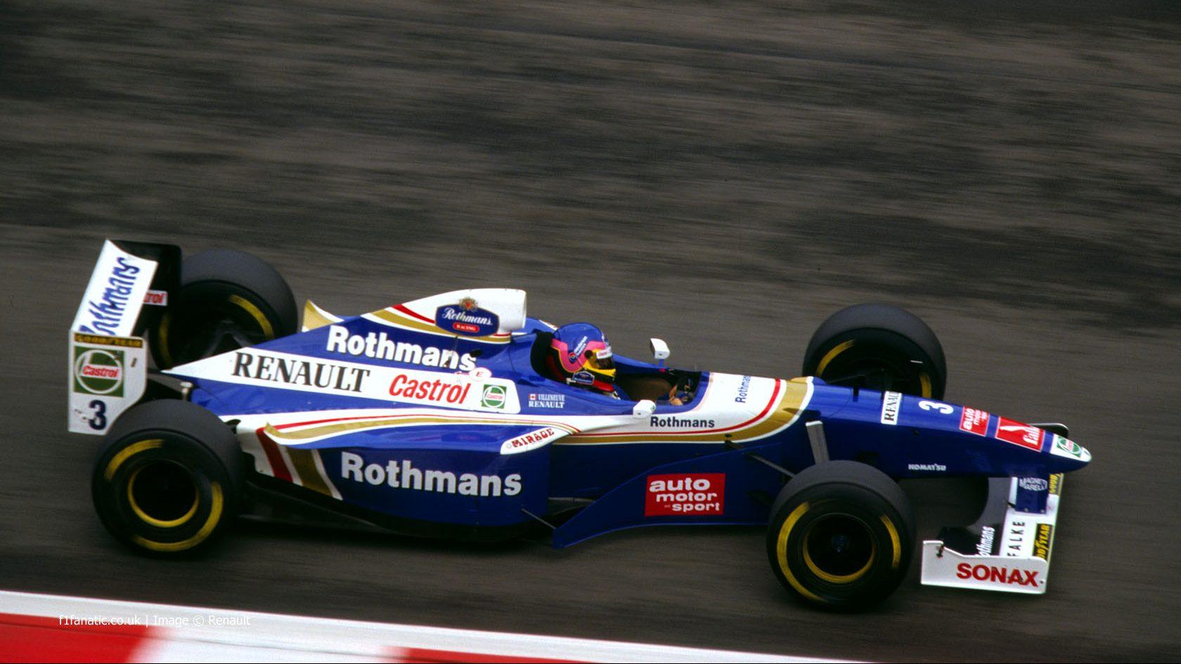 Jacques Villeneuve, Williams, Spa, 1997