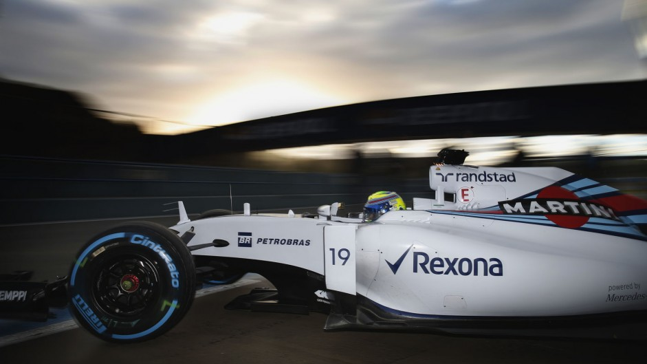 Felipe Massa, Williams, Circuito de Jerez, 2015