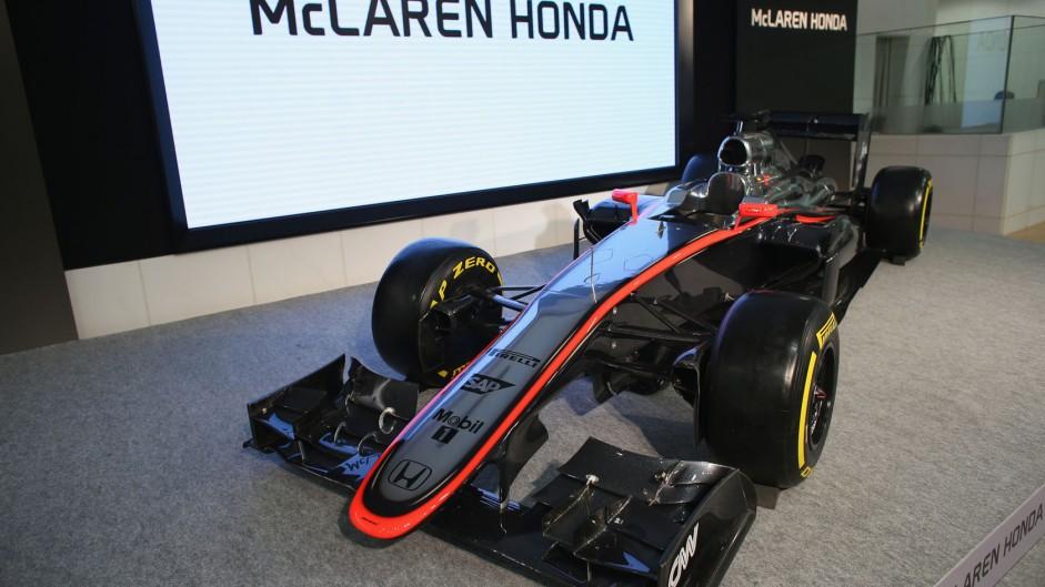McLaren announce launch date for 2016 car